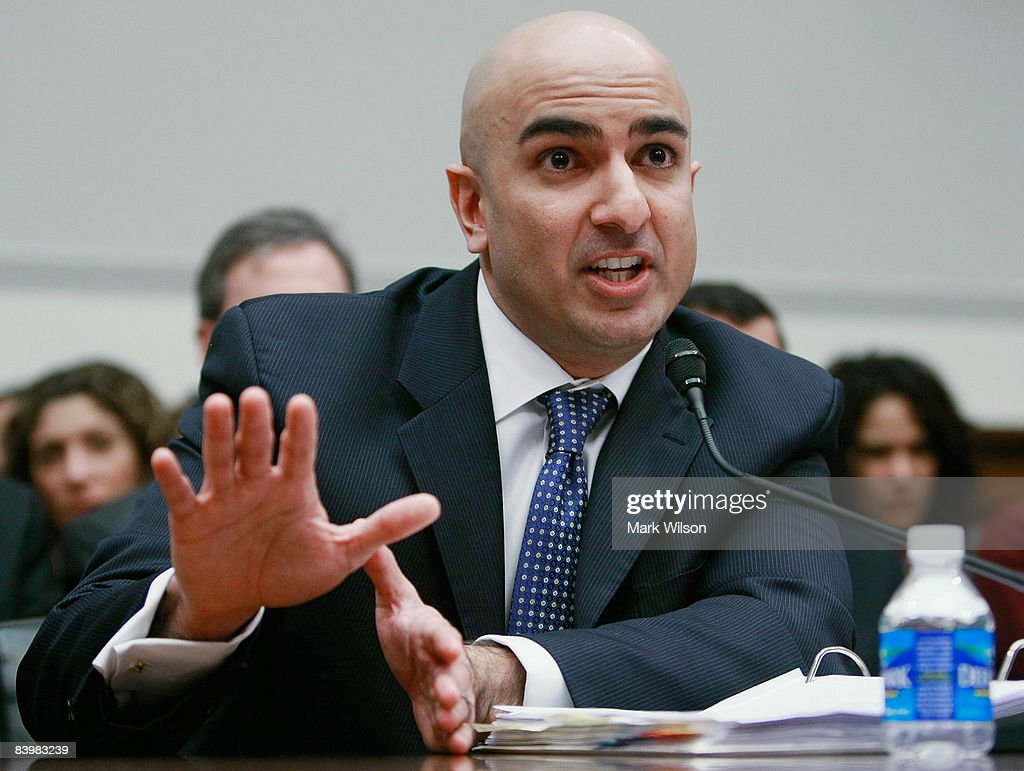 Neel Kashkari, interim Assistant Treasury Secretary for Financial Stability and Assistant Secretary for International Affairs, participates in a House Financial Services Committee hearing on Capitol Hill December 10, 2008 in Washington, DC. The committee is hearing testimony on concerns regarding the Treasury Departments oversight regarding the troubled assets relief program (TARP).