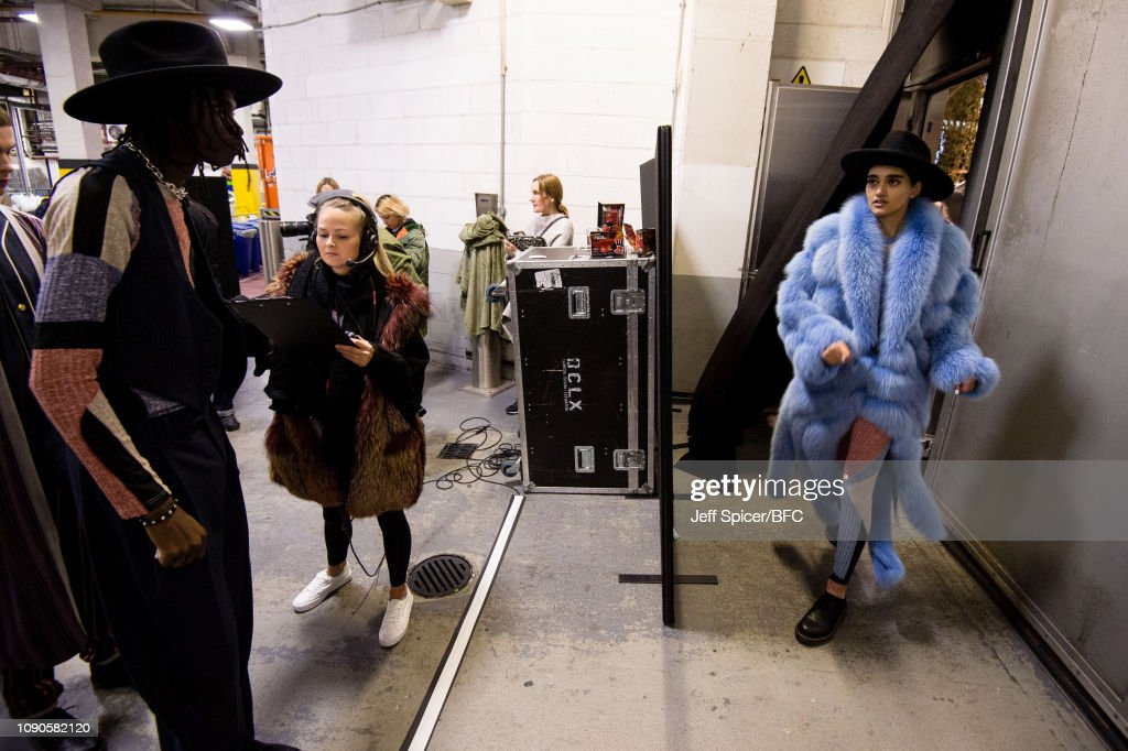 Astrid Andersen - Backstage - LFWM January 2019 : ニュース写真