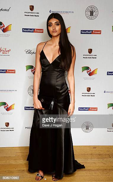 Neelam Gill attends a reception and dinner for supporters of The British Asian Trust at Natural History Museum on February 2 2016 in London England
