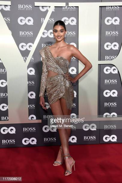 Neelam Gill attends GQ Men Of The Year Awards 2019 in association with HUGO BOSS at Tate Modern on September 03 2019 in London England