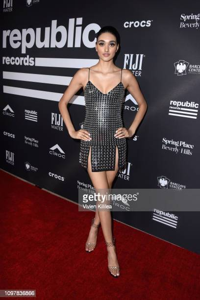 Neelam Gill attends Republic Records Grammy after party at Spring Place Beverly Hills on February 10 2019 in Beverly Hills California