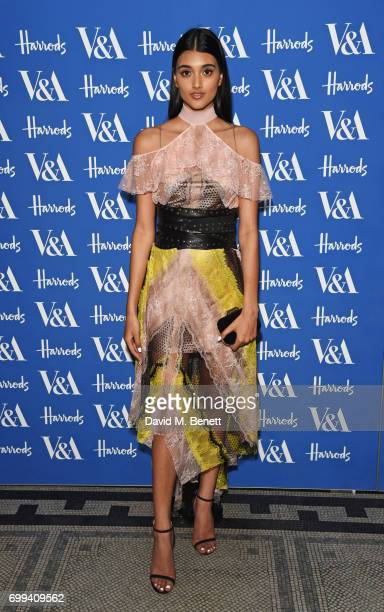 Neelam Gill attends the 2017 annual VA Summer Party in partnership with Harrods at the Victoria and Albert Museum on June 21 2017 in London England