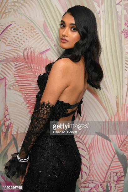 Neelam Gill attends the Chopard Parfums 'La Nuit Des Rois' dinner party hosted by Caroline Scheufele and Patrizio Stella at Hotel Martinez on May 20...