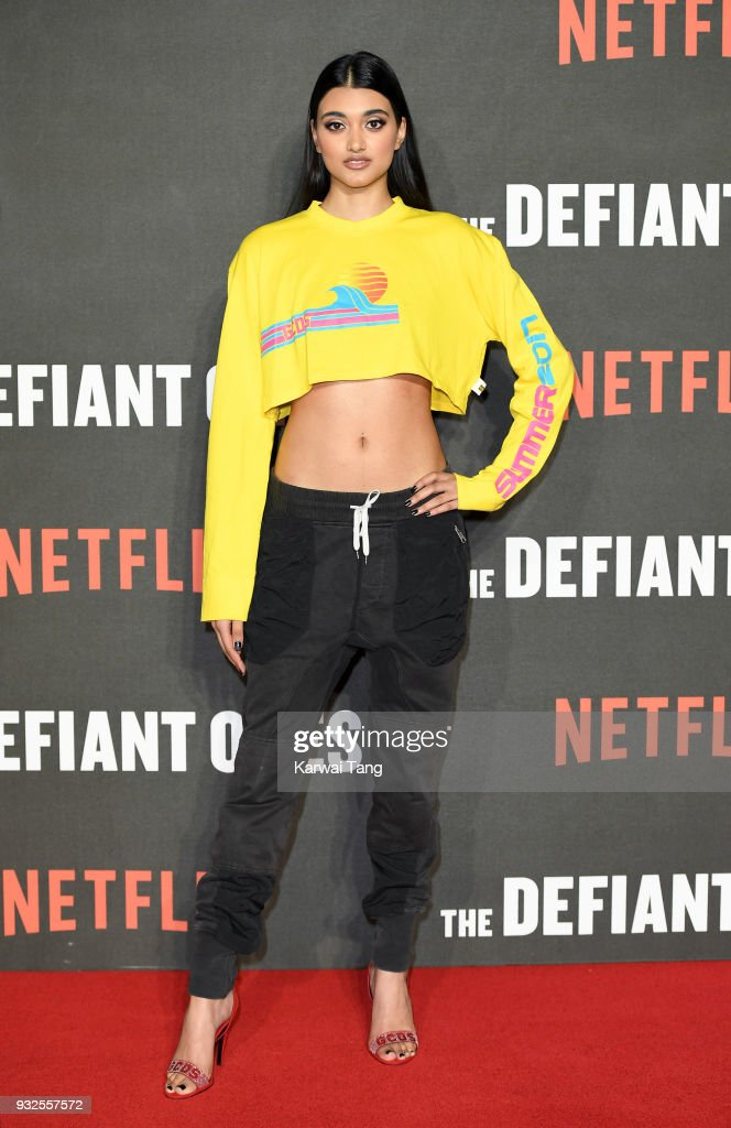 Neelam Gill attends 'The Defiant Ones' special screening at the Ritzy Picturehouse on March 15, 2018 in London, United Kingdom.