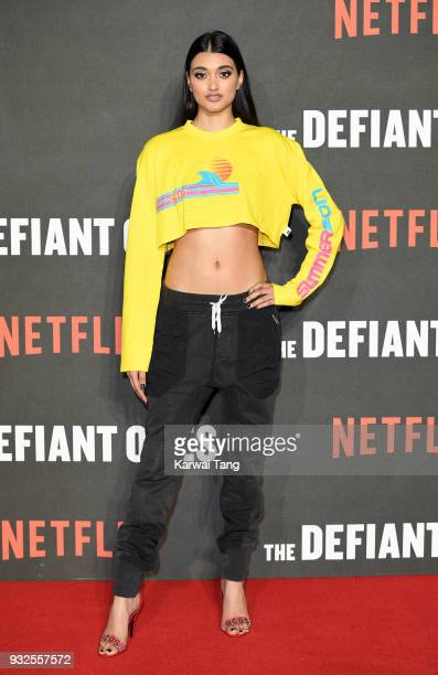 Neelam Gill attends 'The Defiant Ones' special screening at the Ritzy Picturehouse on March 15 2018 in London United Kingdom