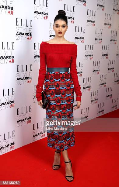 Neelam Gill attends the Elle Style Awards 2017 on February 13 2017 in London England
