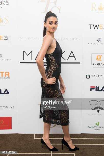 Neelam Gill attends the inaugural International Fashion Show at Rosewood Hotel on May 25 2018 in London England