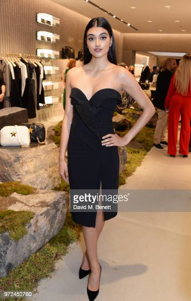 Neelam Gill attends the launch of the Stella McCartney Global flagship store on Old Bond Street on June 12 2018 in London England