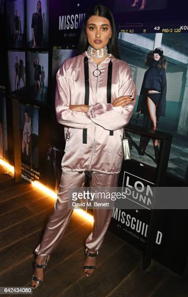 Neelam Gill attends the Lon Dunn Missguided launch event hosted by Jourdan Dunn at The London EDITION on February 17 2017 in London England