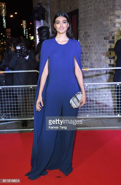 Neelam Gill attends the Naked Heart Foundation's Fabulous Fund Fair during London Fashion Week February 2018 at the Roundhouse on February 20 2018 in...