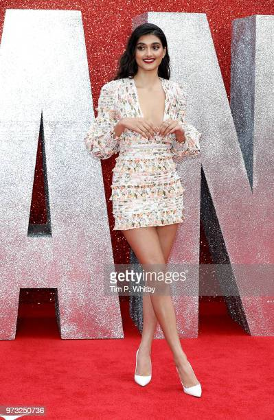 Neelam Gill attends the 'Ocean's 8' UK Premiere held at Cineworld Leicester Square on June 13 2018 in London England