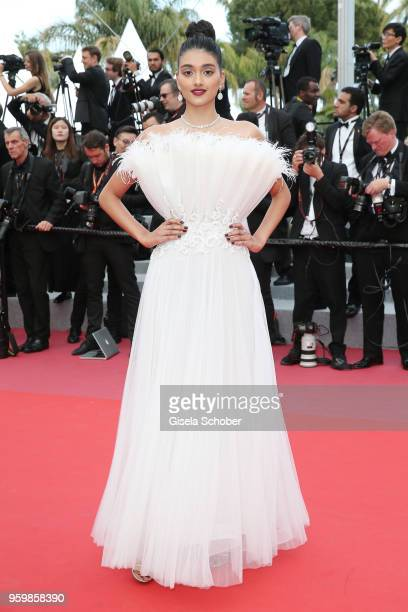 Neelam Gill attends the screening of 'The Wild Pear Tree ' during the 71st annual Cannes Film Festival at Palais des Festivals on May 18 2018 in...