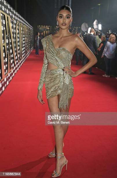 Neelam Gill attends the the GQ Men Of The Year Awards 2019 in association with HUGO BOSS at the Tate Modern on September 3, 2019 in London, England.