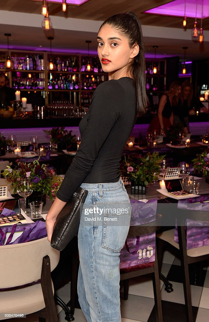 Neelam Gill attends the Urban Decay x Gwen VIP dinner at Hotel Chantelle on December 8, 2015 in London, England.