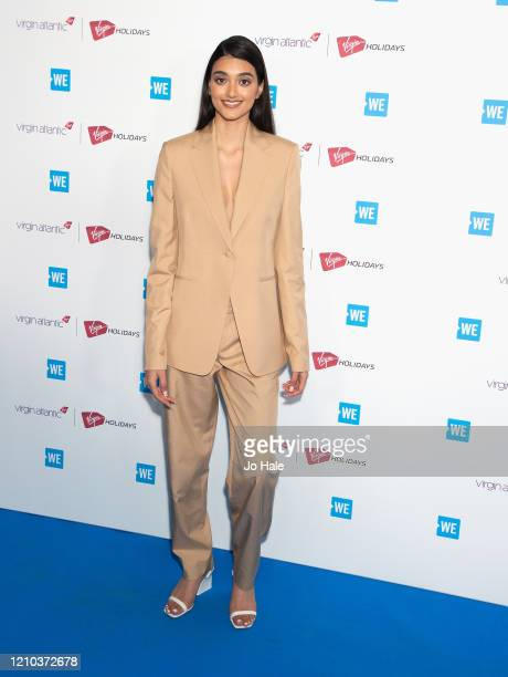Neelam Gill attends WE Day UK 2020 at The SSE Arena Wembley on March 04 2020 in London England