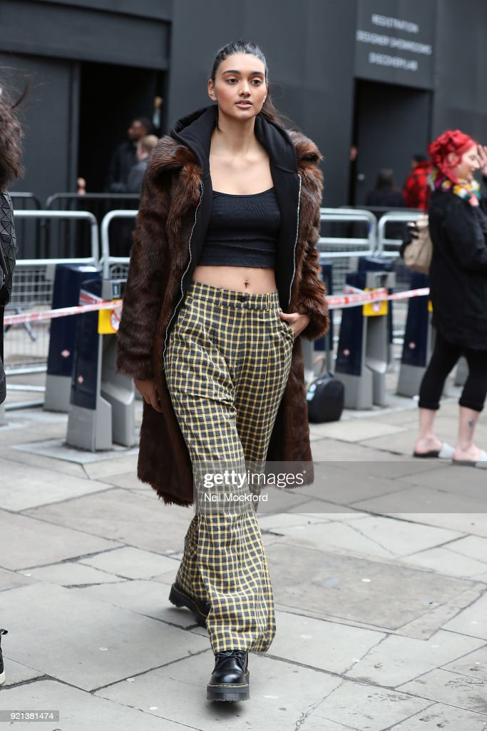 Celebrity Sightings - LFW February 2018 - Day 5 - February 20, 2018