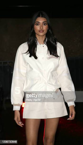 Neelam Gill seen attending Tommy Hilfiger catwalk show at Tate Modern during LFW February 2020 on February 16 2020 in London England