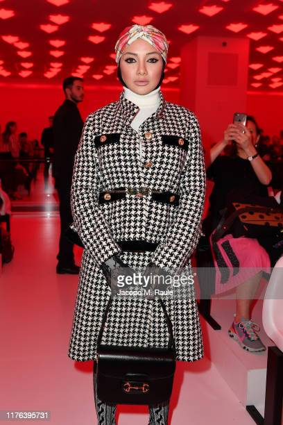 Neelofa attends the Gucci show during Milan Fashion Week Spring/Summer 2020 on September 22 2019 in Milan Italy