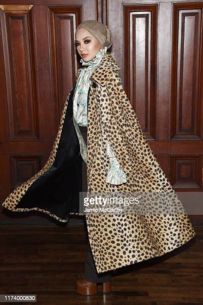 Neelofa attends the Marc Jacobs Spring 2020 Runway Show at Park Avenue Armory on September 11 2019 in New York City