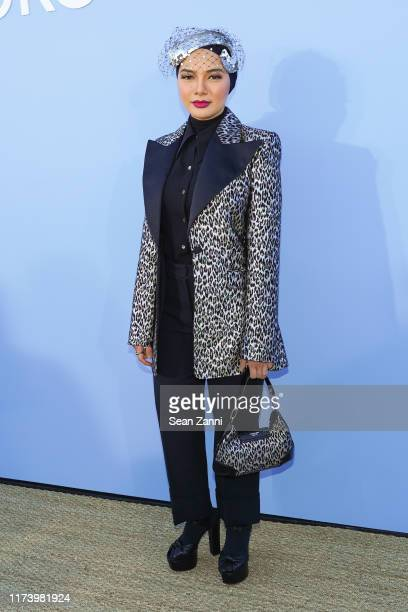 Neelofa attends the Michael Kors S/S 2020 Fashion Show at Duggal Greenhouse on September 11 2019 in Brooklyn New York