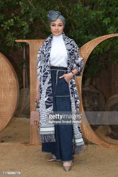 Neelofa Mohd Noor attends the Christian Dior Womenswear Spring/Summer 2020 show as part of Paris Fashion Week on September 24, 2019 in Paris, France.