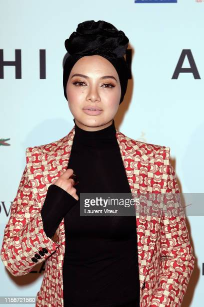 Neelofa Noor attends the 30th Andam Fashion Awards Ceremony At Ministere De La Culture on June 27 2019 in Paris France