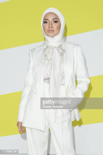 Neelofa wearing Max Mara attends the Max Mara show during Milan Fashion Week Spring/Summer 2020 on September 19 2019 in Milan Italy