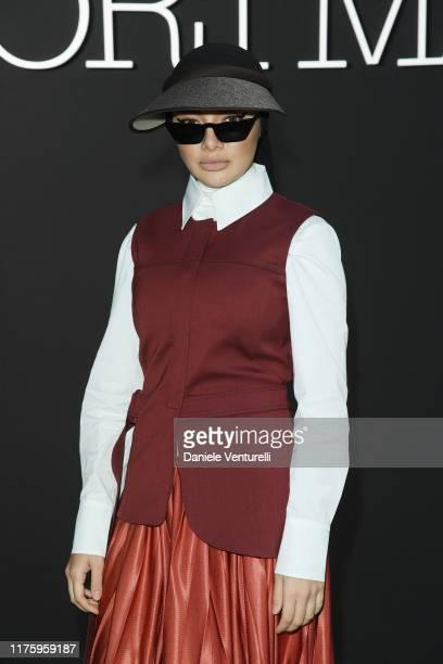 Neelofa wearing Sportmax attends the Sportmax show during Milan Fashion Week Spring/Summer 2020 on September 20 2019 in Milan Italy