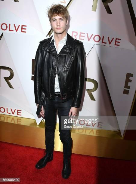 Neels Visser arrives at the #REVOLVEawards at DREAM Hollywood on November 2 2017 in Hollywood California