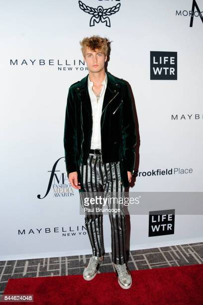 Neels Visser attends Daily Front Row's Fashion Media Awards at Four Seasons Hotel New York Downtown on September 8 2017 in New York City