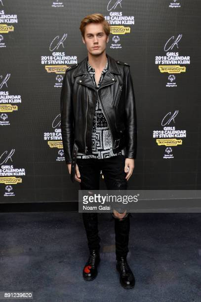 Neels Visser attends the CR Fashion Book Celebrating launch of CR Girls 2018 with Technogym at Spring Place on December 12 2017 in New York City