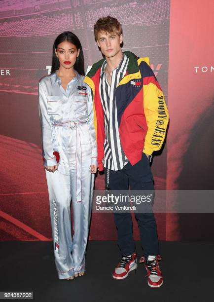 Neels Visser attends the Tommy Hilfiger show during Milan Fashion Week Fall/Winter 2018/19 on February 25 2018 in Milan Italy