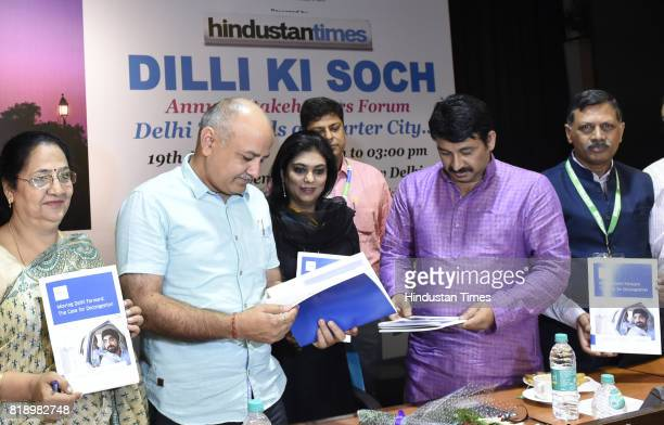 Neema Bhagat Chairperson of EDMC eputy Chief Minister of Delhi Manish Sisodia Shweta Rajpal Kohli Director Public Policy India and South Asia Uber...
