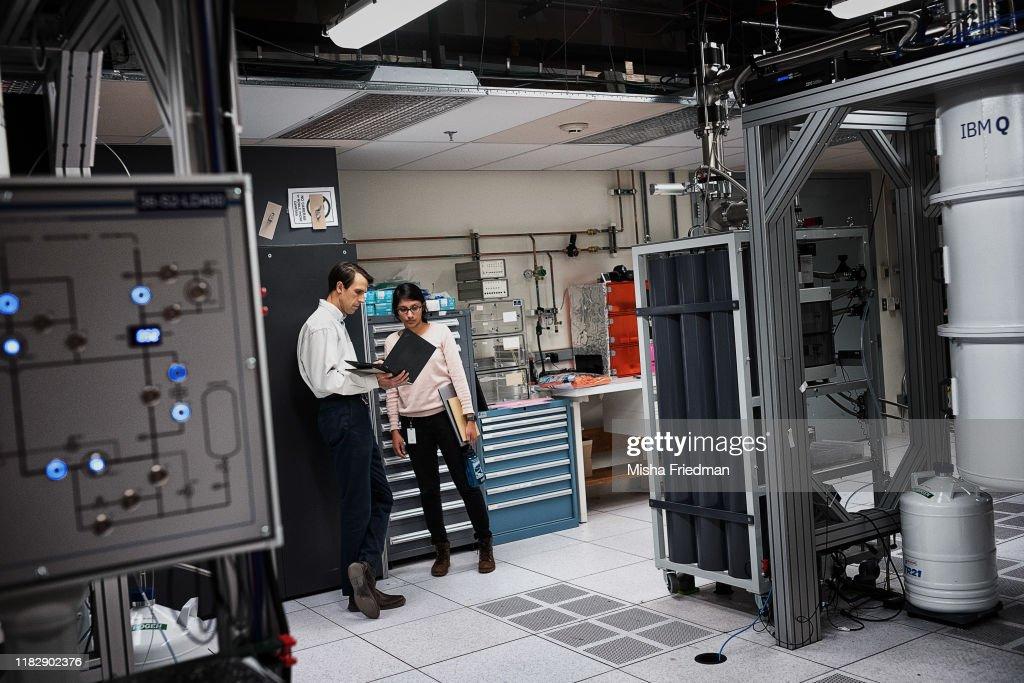 IBM Q System One Quantum Computer : News Photo