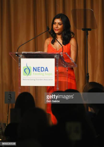 Neesha Arter speaks onstage during the National Eating Disorders Association Annual Gala 2018 at The Pierre Hotel on May 16 2018 in New York City