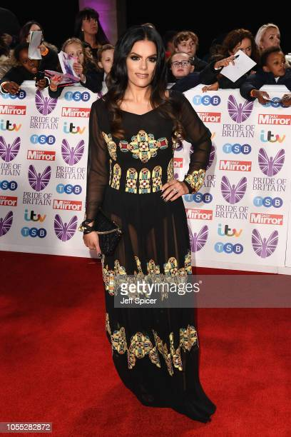 Neev Spencer attends the Pride of Britain Awards 2018 at The Grosvenor House Hotel on October 29 2018 in London England