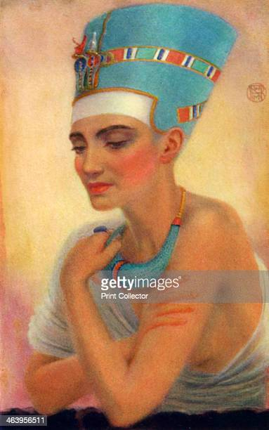 Nefertiti Ancient Egyptian queen of the 18th dynasty 14th century BC Nefertiti was the wife of the Pharaoh Akhenaten and was a supporter of his...