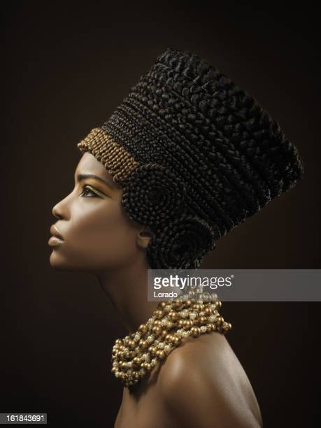 nefertiti - egyptian culture stock photos and pictures