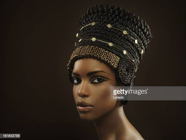 nefertiti - queen royal person stock photos and pictures
