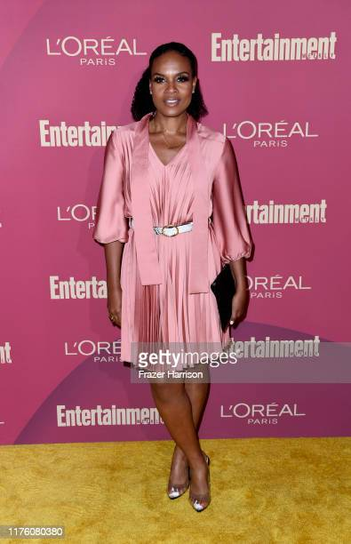 Nefetari Spencer attends the 2019 Entertainment Weekly Pre-Emmy Party at Sunset Tower on September 20, 2019 in Los Angeles, California.