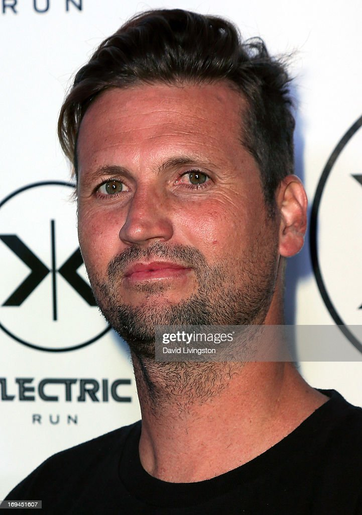 Neff Headwear founder Shaun Neff attends Electric Run LA at The Home Depot Center on May 24, 2013 in Carson, California.