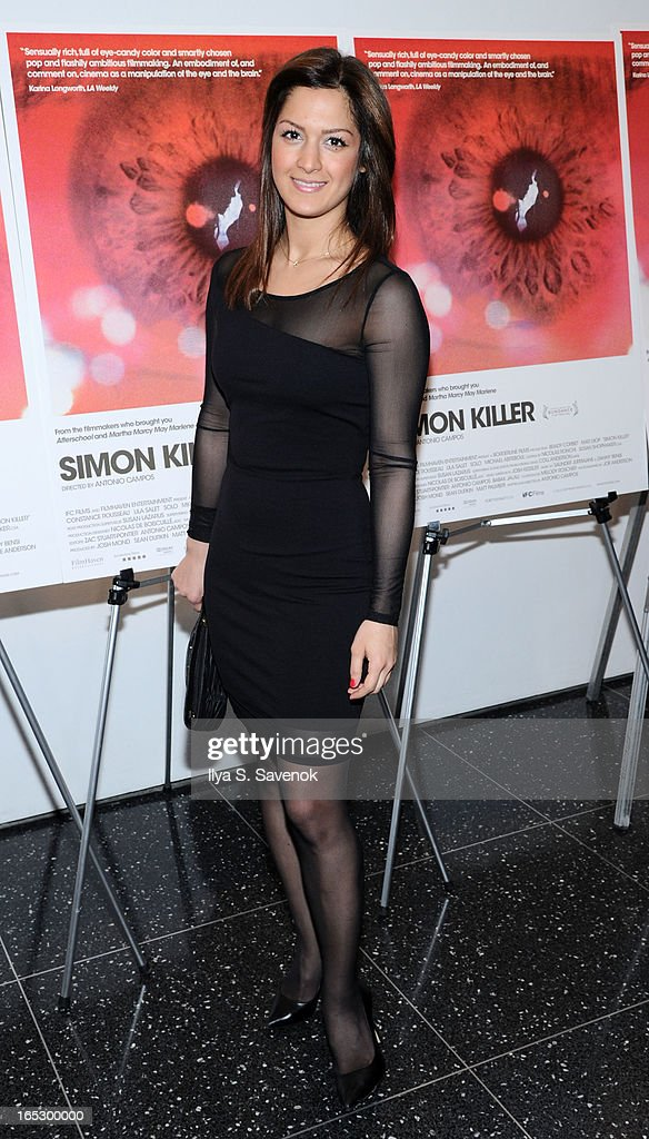 """Simon Killer"" New York Premiere - Arrivals : News Photo"