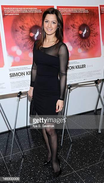 Negin attends the Simon Killer New York Premiere at MOMA on April 2 2013 in New York City