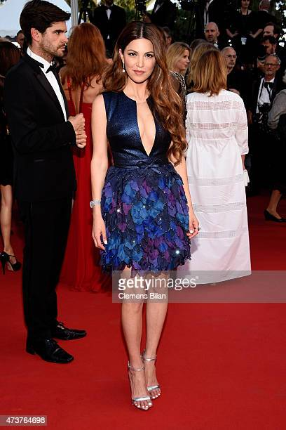 Negin Mirsalehi attends the 'Carol' Premiere during the 68th annual Cannes Film Festival on May 17 2015 in Cannes France