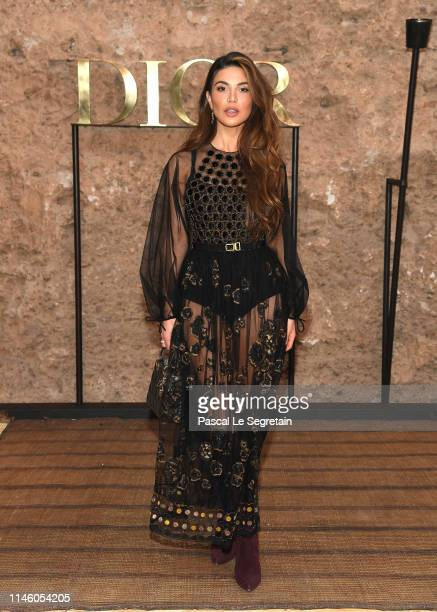 Negin Mirsalehi attends the Christian Dior Couture S/S20 Cruise Collection on April 29 2019 in Marrakech Morocco