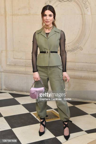 Negin Mirsalehi attends the Christian Dior Haute Couture Spring Summer 2019 show as part of Paris Fashion Week on January 21 2019 in Paris France