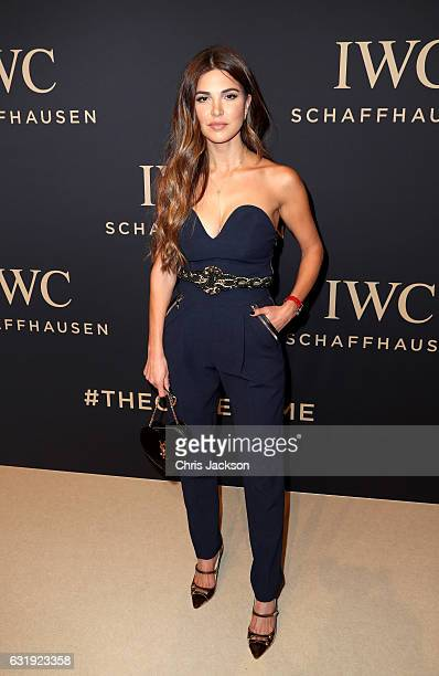 Negin Mirsalehi attends the IWC Schaffhausen Decoding the Beauty of Time Gala Dinner during the launch of the Da Vinci Novelties from the Swiss...
