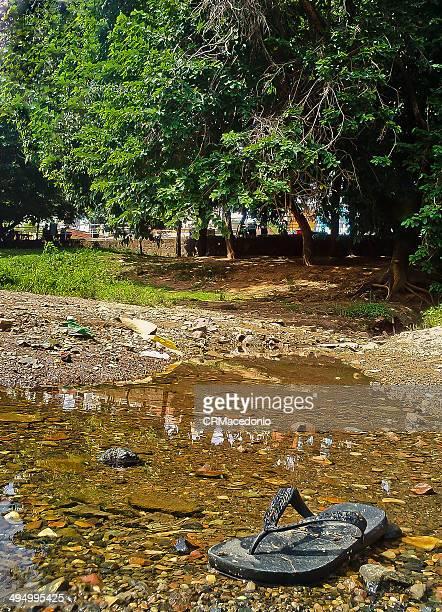 neglect of water from the rio piracicaba - crmacedonio fotografías e imágenes de stock