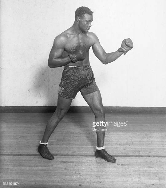 Negro Boxer After Dempsey's Title. Latest photo of Harry Wills, who, if the New York Boxing Commission has its way, will probably be signed up in the...