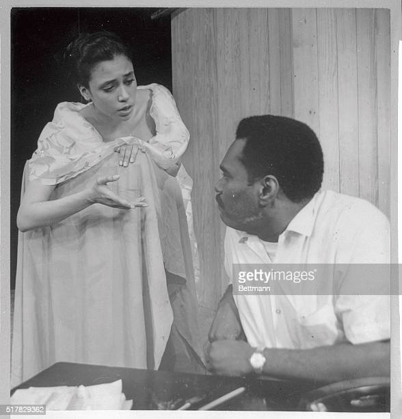 Negro Ensemble Company an all Negro group perform scene from the The Song of the Lusitanian Bogey recently The company is the brainchild of Negro...